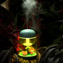 180ML Landscape Ultrasonic Humidifier LED Colorful USB Micro Essential Oil Aroma Diffuser Purifier