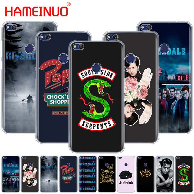 separation shoes 4e033 32c8c US $1.93 34% OFF|HAMEINUO Riverdale pop's south side JUGHEAD Cover phone  Case for huawei Ascend P7 P8 P9 P10 P20 lite plus pro G9 G8 G7 2017-in ...
