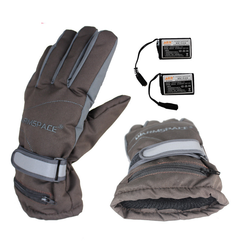 Warmspace Winter Usb Electric Heated Gloves Outdoor Sports -1993