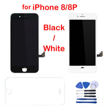 For iPhone 8 8G 8Plus LCD Display Touch Screen Digitizer Assembly Replacement Parts + Tools For iPhone 8 Plus 5.5 LCDs Screen aaa for iphone 6 lcd display touch screen mobile phone lcds digitizer assembly replacement parts with free tools accessories