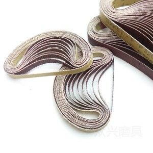Image 5 - Cinta lijadora Dremel, accesorios, 30x533mm, grano 40 600, para pulir y pulir, 10 Uds.