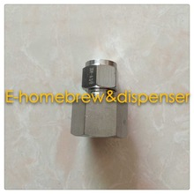 Free shippping food grade 304 stainless steel pipe connector ,Female 5/8,For 8mm  OD