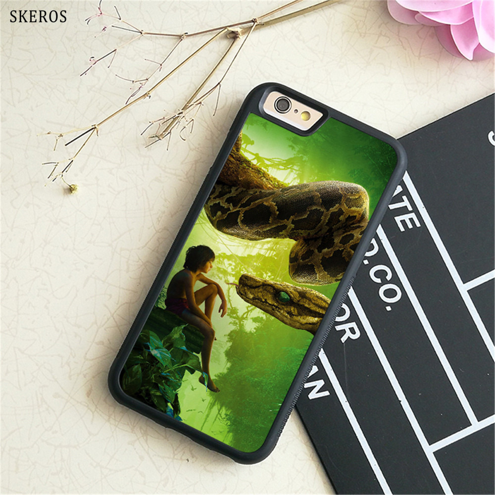 SKEROS The Jungle Book 4 phone case for iphone X 4 4s 5 5s 6 6s 7 8 6 plus 6s plus 7 & 8 plus #B743