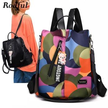 8f19a2102a3 Product Offer. Оксфордский женский рюкзак, повседневный легкий женский  Школьный рюкзак, сумка ...