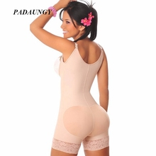 PADAUNGY Bodyshaper Women Slimming Underwear Push Up Bodysuits Full Body Shaper Butt Lifter Shapewear Plus Size Shapers Cinta