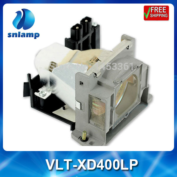 Compatible projector bulb lamp VLT-XD400LP for XD400 XD460 XD480 XD490 XD450 ES100 XD460U XD490U vlt xd400lp xd400lp for mitsubishi xd460u xd400 xd480 xd490 xd450 es100 xd490u xd480u xd450u projector lamp bulb with housing