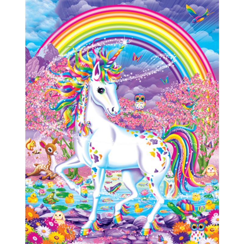 Unicorn Hand Made Paint High Quality Canvas Beautiful Painting By Numbers Surprise Gift Great Accomplishment