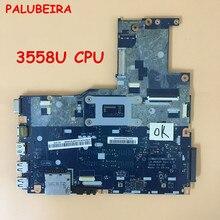 PALUBEIRA прекрасно работает ZIWE1 ZIWB2 ZIWB3 LA-B092P для Lenovo B50-70 Материнская плата ноутбука 3558U процессор