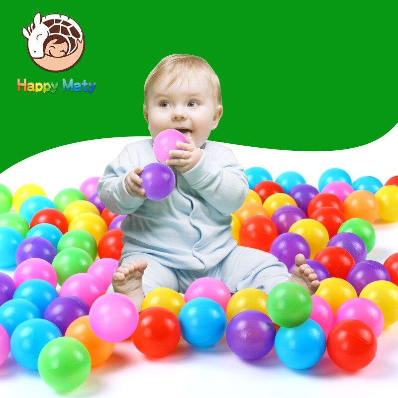 50 հատ կամ 100 գունագեղ պլաստիկ գնդակներ - Արտաքին զվարճանք և սպորտ - Լուսանկար 3