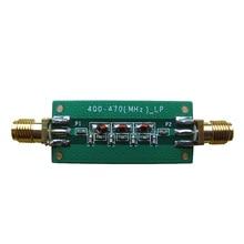 433 MHZ 5 ~ 0dBm 저역 통과 필터 LPF 2.4GHZ ~ 2.6GHZ