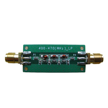 433 MHZ 5 ~ 0dBm dolnoprzepustowym filtrem LPF 2.4GHZ ~ 2.6GHZ
