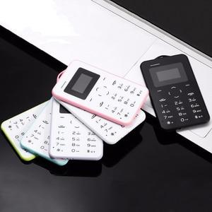 Image 3 - AEKU C6 漫画子供 GPRS 振動 Bluetooth 小型ミニ超薄型カードスペア学生低価格ロック解除携帯電話 AIEK m5