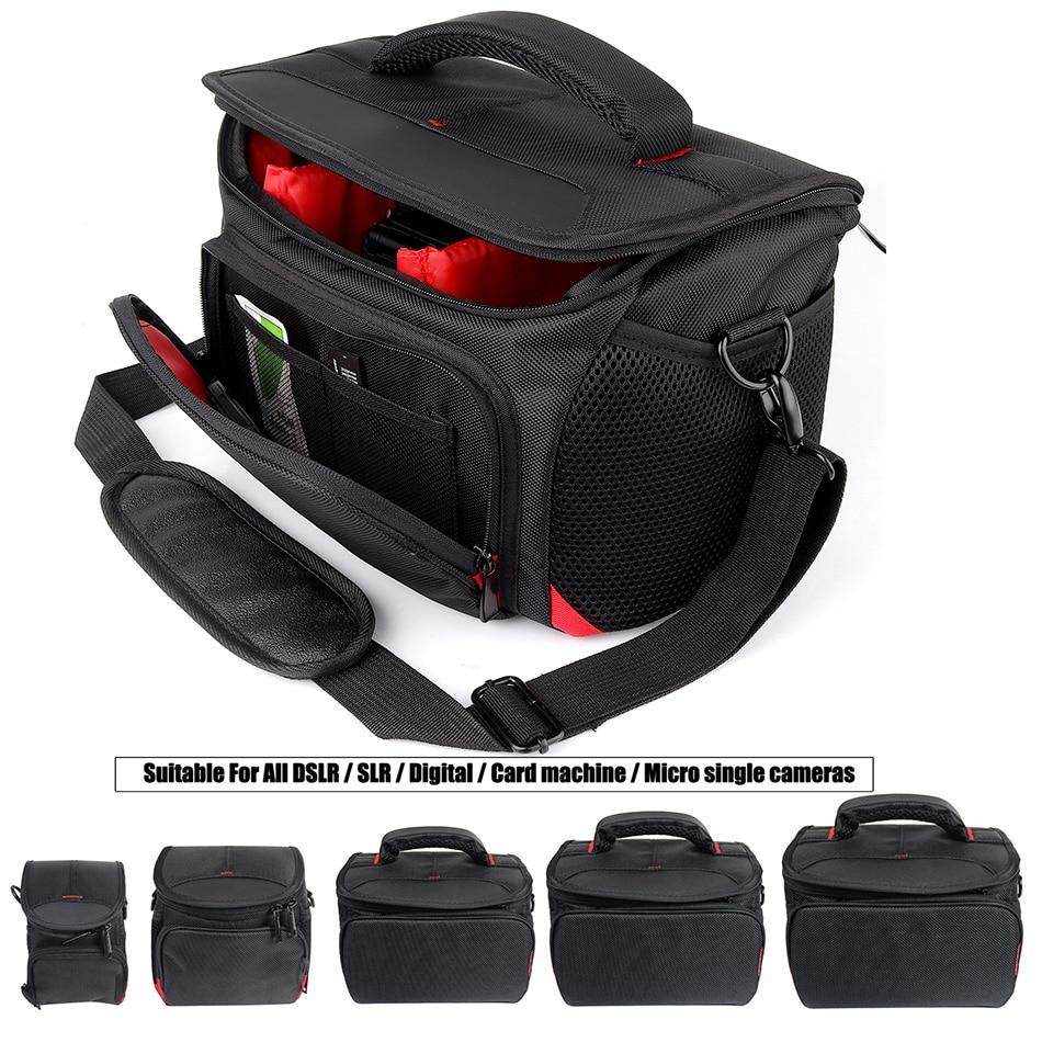 HUWANG DSLR Camera Bag Lens Pouch For Sony alpha A7 II III A6000 A5100 A5000 A6300 HX90 HX60 HX50 RX100 II III IV V Sony Bag