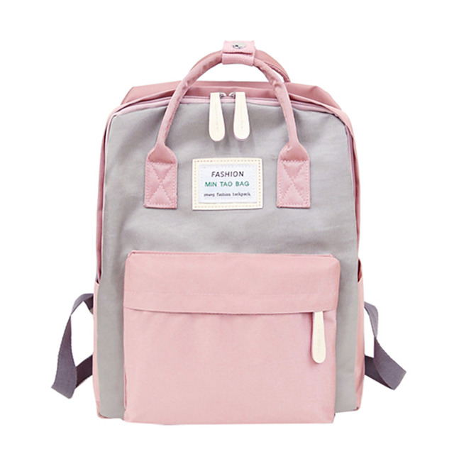 Nylon Waterproof Women Backpack Fashion Youth Korean Style Rucksack Laptop Backpack  SchoolBags for Teenage Girls Boys travel Bag-in Backpacks from Luggage ... f9e53e4c08384