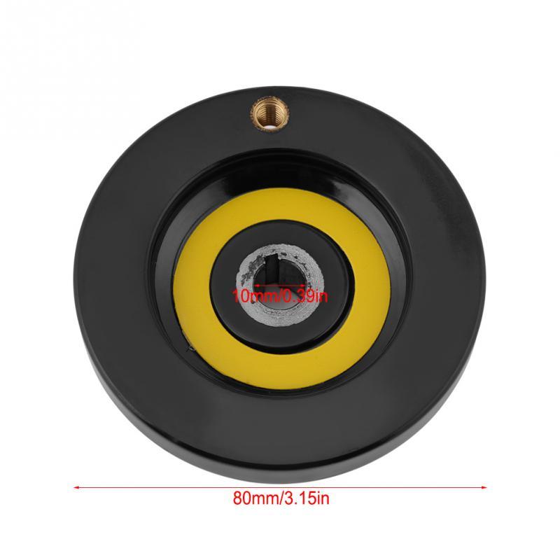 63 мм 80 мм 125 мм 160 мм 200 мм токарный фрезерный станок задний пульсационный маховик с вращающейся ручкой для фрезерного станка токарный станок шлифовальный станок - Цвет: 10x80mm