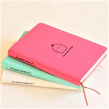 1PCS cute faux leather monthly weekly plan agenda organizer diary magazine notebook stationery gift цена в Москве и Питере