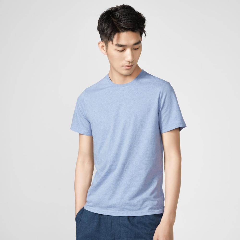 Image 4 - 2Pcs/lot Xiaomi Cotton Smith Men Bottoming T shirt Loose Comfortable Soft Breathable Summer T shirt-in Smart Remote Control from Consumer Electronics