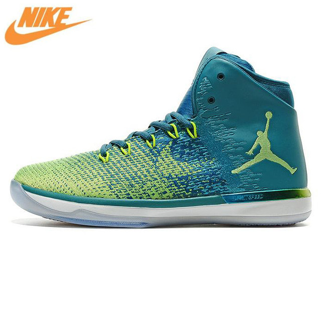 2a8ca2db259 ... coupon code nike air jordan xxxi aj31 mens basketball shoes sports shoes  white and green brazil