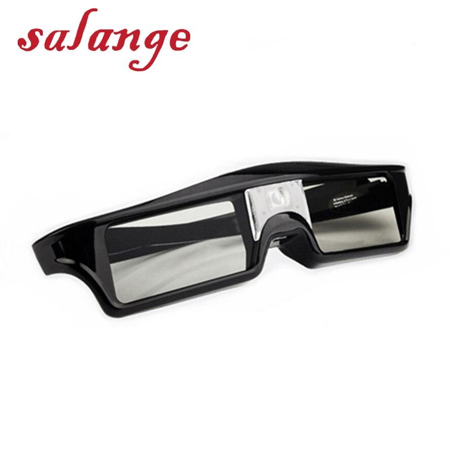Óculos de Obturador Ativo Universal 3D com bateria Para JmGO V8 E8 J6S M6 P2 Vista XGIMI H2 H1 Z6 Projetor outros DLP Link Projetor