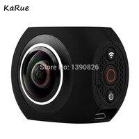 Karue pano360 действие Камера Ultra HD 4 К Спорт DV 360 градусов широкий угол Wi Fi Управление фотографического спортивные видео камера