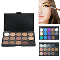 1PC Eye Face Shadow Makeup Cosmetic Beauty Eyeshadow Palette Kits Gift 15 Colors