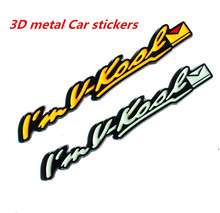 Car-styling 3D Stickers Applique Auto Stereoscopic metal WELGO Refit marked Decoration Sticker Automobiles Exterior Accessories