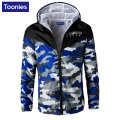 Fashion Camouflage Print Thin Jacket Men Hooded Hip Hop Jackets Coat Spring Autumn All-match Jackets Army Green 5 Color 4XL Size