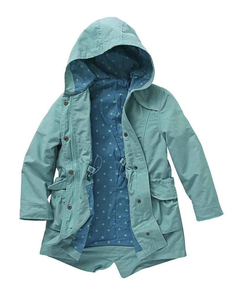 fa6bd273e10d Free shipping kids children girls hooded parka