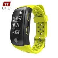 TTLIFE Smart Watch GPS Traker S908 Smart Bracelet Pedometer Waterproof Heart Rate Monitor Touch Watches Men