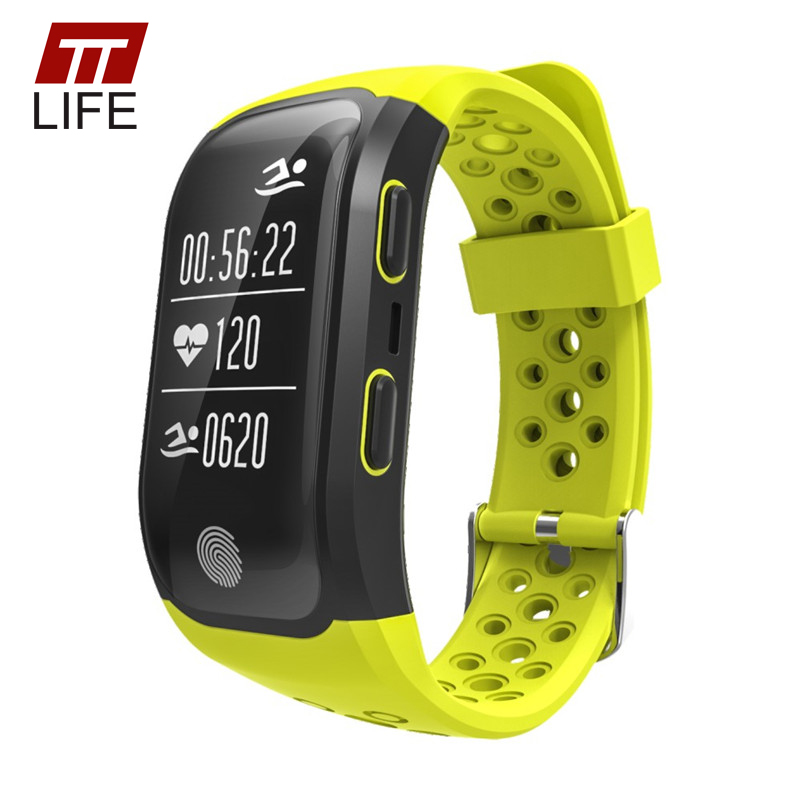 TTLIFE Smart Watch GPS Traker S908 Smart Bracelet Pedometer Waterproof Heart Rate Monitor Touch Watches Men Women IOS Android u80 smart watch with pedometer function