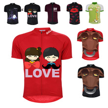 цена на 8 style retro cycling jerseys summer short sleeve bike wear red white pink black jersey road jersey cycling clothing braetan