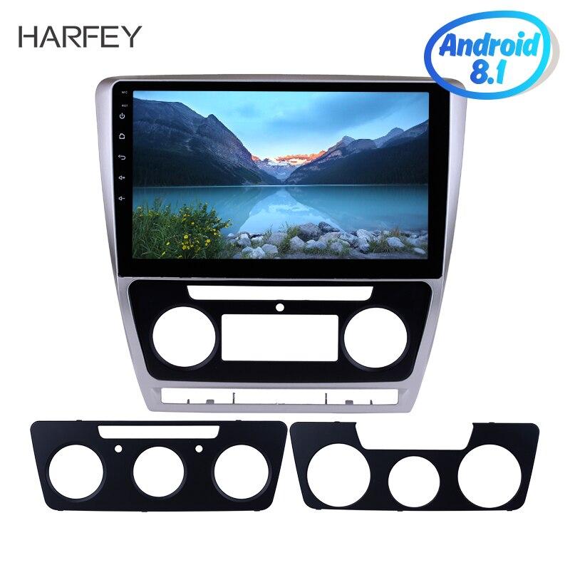 Harfey pour Skoda Octavia 2007-2014 HD 10.1