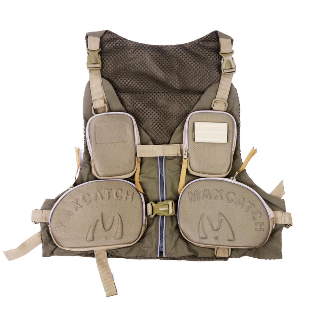 Multi Functional Fly Fishing Vest Outdoor Vest Multi Pocket Quick Drying Mesh Vest DYMJY 01