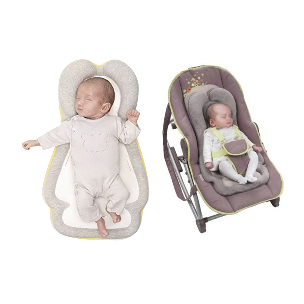 Portable Baby Crib Anti-rollover Baby Bed Travel Folding Baby Head Protection Pad Baby Sleeping Positioning Pillow