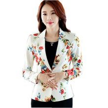 Ladies Short Suit Jackets In Women Blazer Elegant Double Breasted Blazer Women Business Suit Blouson Femme Casual Tops 2018