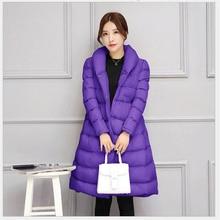 2017 New Fashion winter coat women warm outwear Padded cotton Jacket coat Womens Clothing High Quality parkas manteau femme  520