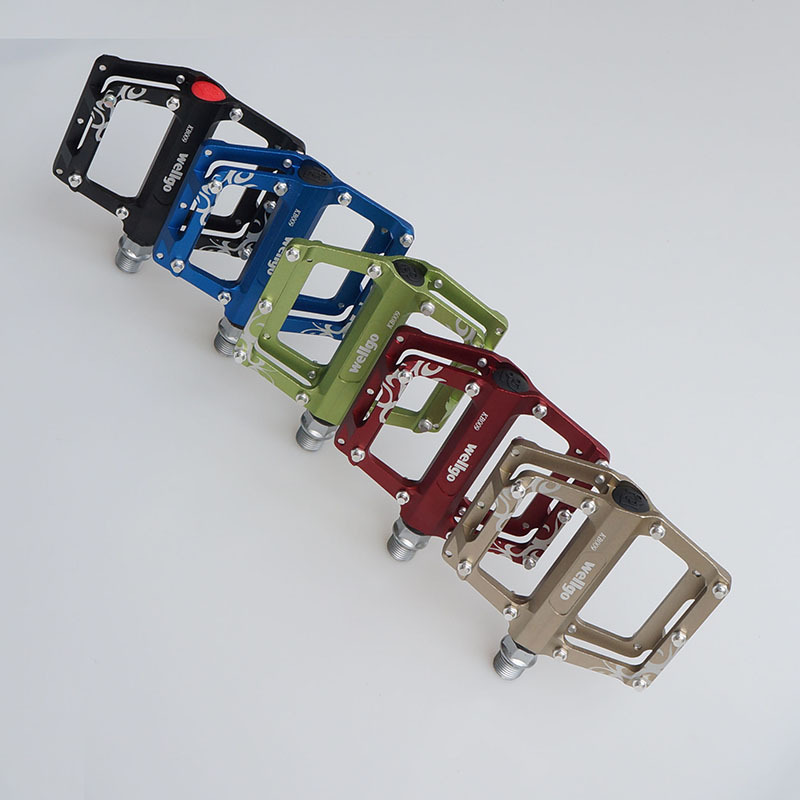 ФОТО 2015 New Wellgo KB009  Magnesium BMX Mountain Bike Pedals