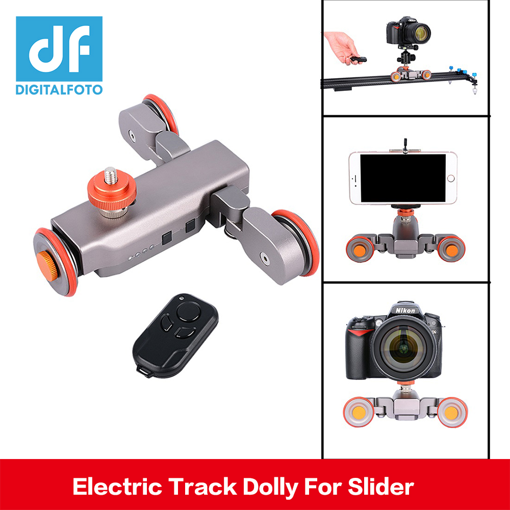 DIGITALFOTO Autodolly Wireless Remote camera Motorized Dolly Car DSLR Electric Track Slider Video Pulley Rolling Skater цена 2017
