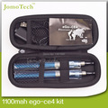 Ego Ce4 duplo Starter Kits eGo Zipper caso 650 mah 900 mah 1100 mah eGo - T Ce4 atomizador cigarro eletrônico Kit