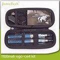 eGo Ce4 Double Starter Kits eGo Zipper Case 650mah 900mah 1100mah eGo-T Battery Ce4 Atomizer Kit Electronic Cigarette Smoking