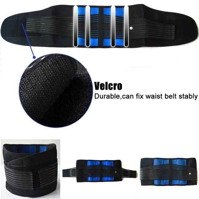 Neoprene Sports Waist Posture Corrector Belt Lumbar Support Back Brace Household Pressurized Disc Herniation Tummy Trimmer Belt 4