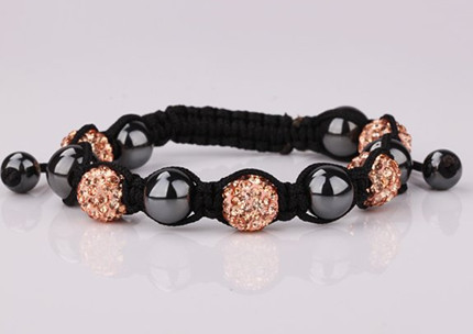 Free shipping! cfg hot micro pave CZ Disco Ball Beads Bracelet fasion Gift jewelry Discount. crystal shamballa