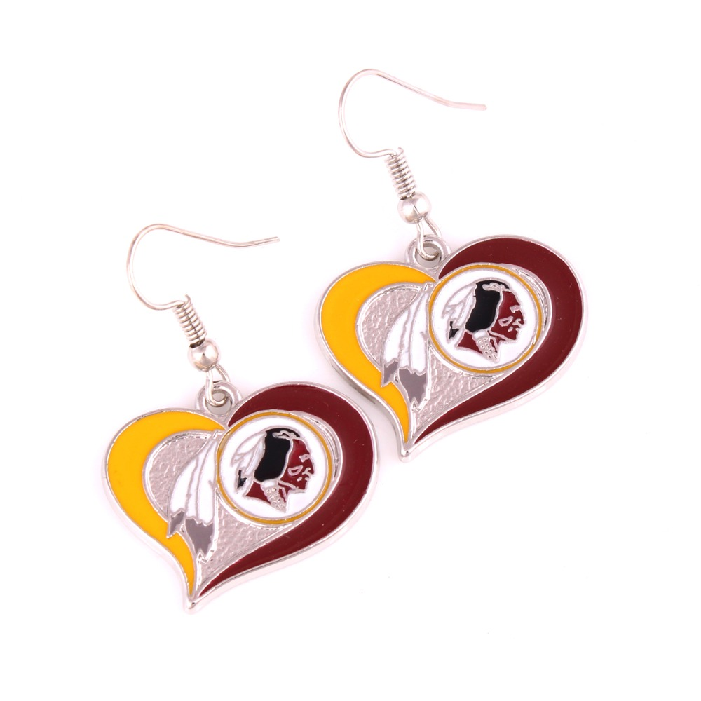 Raiders Vikings Bears Chiefs Colts Panthers 49ers Patriots Eagles Blackhawk  Cardinals Bulldogs Spartans Buckeyes Ducks Earrings