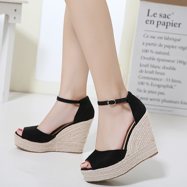 Platform Bohemian Wedge Sandals