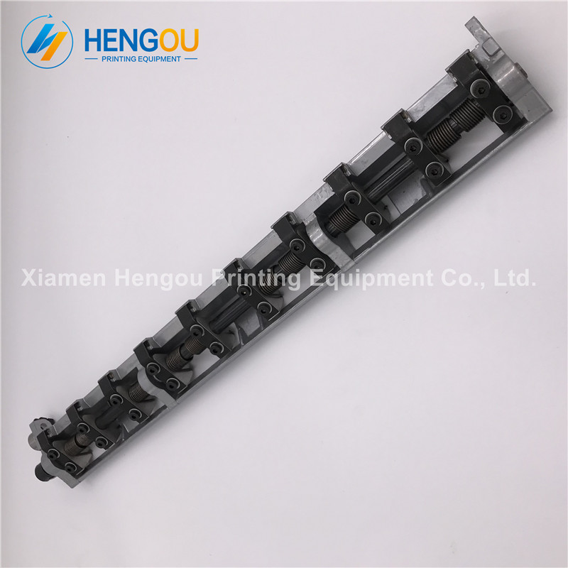 1 Piece free shipping Heidelberg SM52 PM52 delivery gripper bar G4.014.001F offset printing machine parts 20 pieces free shipping heidelberg printing machine spare parts feeder wheel size 60 8mm