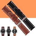 Auto bezerro couro genuíno watch band para hamilton campo cáqui homem relógio 20/22/24mm para diesel assistir alça pulseira + ferramenta gratuita
