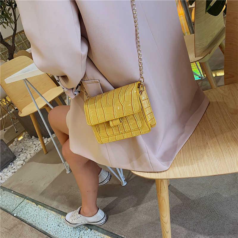 2019 поясная черная сумка, маленькие сумки, женская сумка с крокодиловым узором на плечо, мини сумка-мешок через плечо, женская сумка-мессенджер