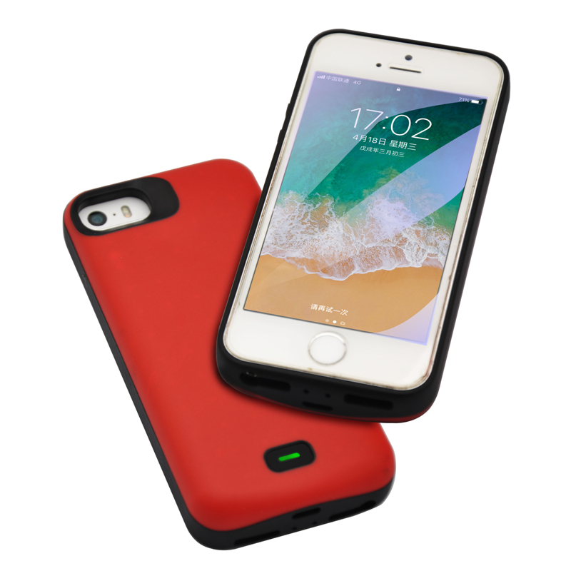 ZKFYS 4000mAh Ultra Thin Fast Charger Battery Cover For iPhone 5 5S 5C SE Portable Power Bank Battery Case