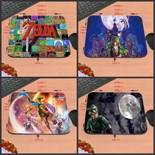 Custom New Arrival The Legend of Zelda  Logos Triforce Sword Triforce Customized Mouse Pad Computer Notebook Non-Slip Mousepad