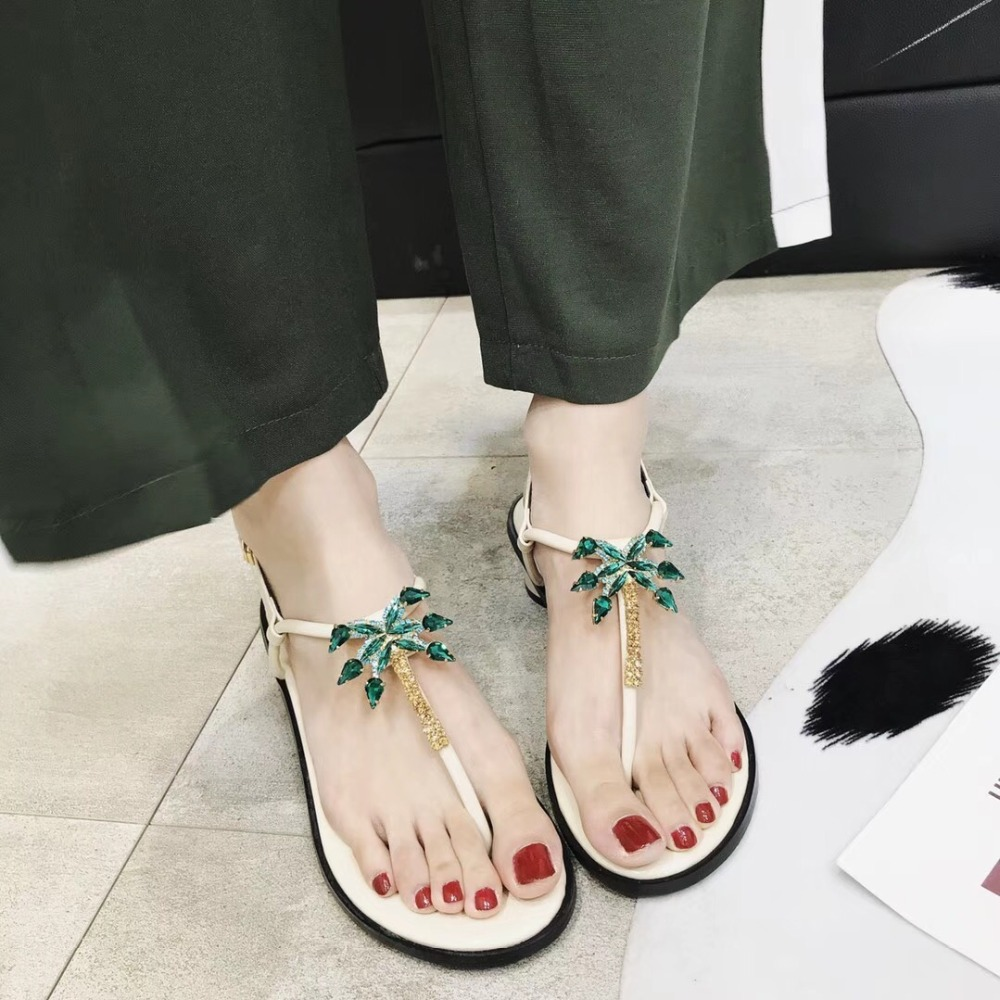 Kmeioo Hot Sale Summer Fashion Sandals Jewel Tree Med Heels Ankle Strap Square Heel Shoes T-Strap Beach Shoes For Dress Casual Kmeioo Hot Sale Summer Fashion Sandals Jewel Tree Med Heels Ankle Strap Square Heel Shoes T-Strap Beach Shoes For Dress Casual